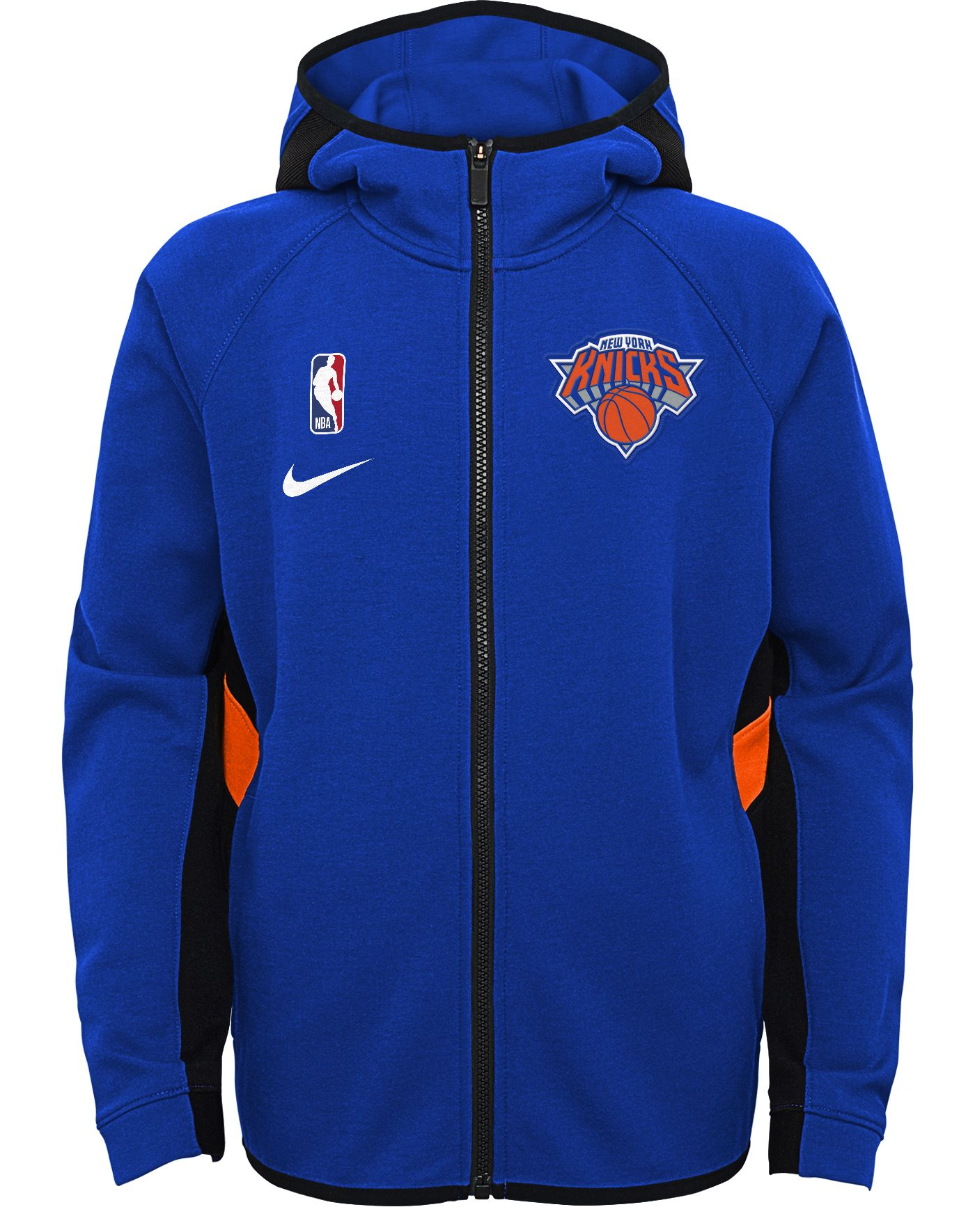 Nike Youth New York Knicks On-Court Therma Flex Showtime Full-Zip Hoodie