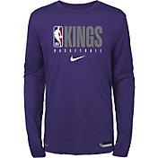 Nike Youth Sacramento Kings Dri-FIT Practice Long Sleeve Shirt