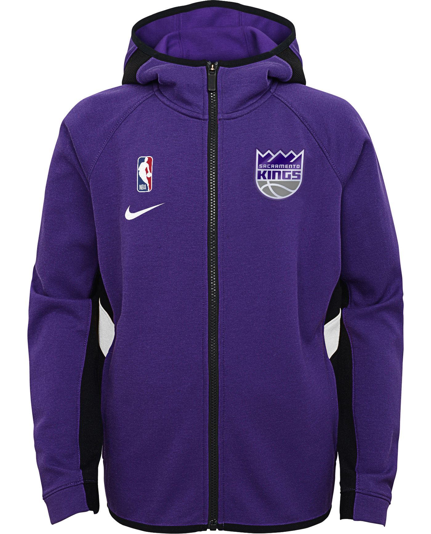 Nike Youth Sacramento Kings On-Court Therma Flex Showtime Full-Zip Hoodie