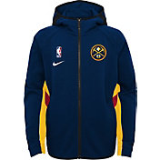 Nike Youth Denver Nuggets On-Court Therma Flex Showtime Full-Zip Hoodie