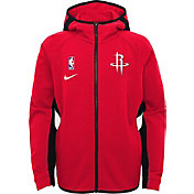 Nike Youth Houston Rockets On-Court Therma Flex Showtime Full-Zip Hoodie