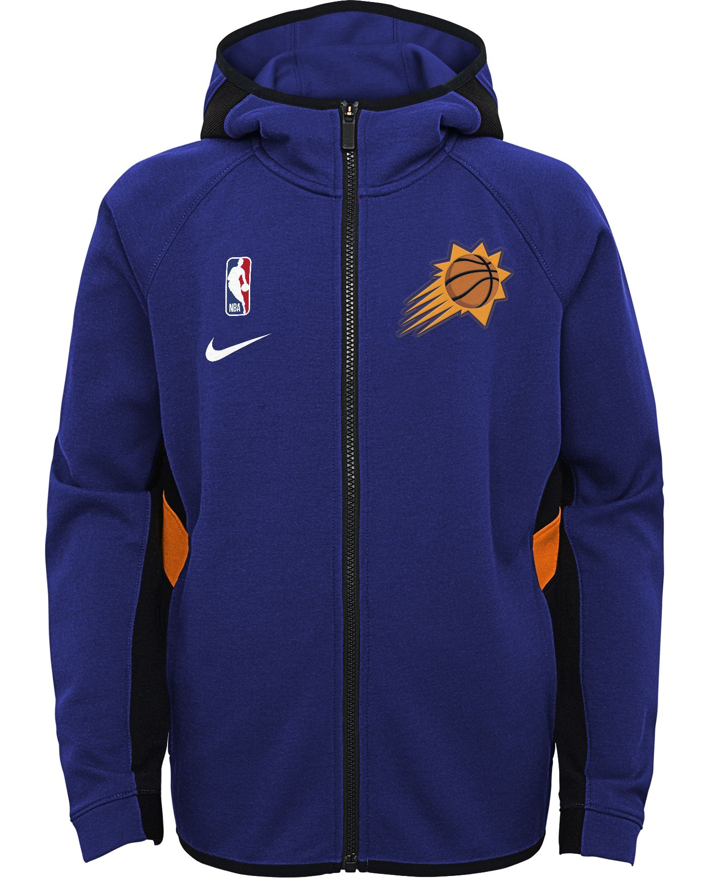 Nike Youth Phoenix Suns On-Court Therma Flex Showtime Full-Zip Hoodie