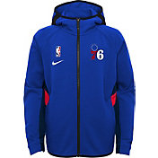 Nike Youth Philadelphia 76ers On-Court Therma Flex Showtime Full-Zip Hoodie