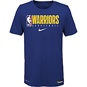 Nike Youth Golden State Warriors Dri-FIT Practice T-Shirt