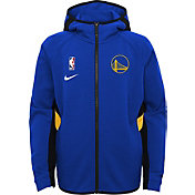 Nike Youth Golden State Warriors On-Court Therma Flex Showtime Full-Zip Hoodie