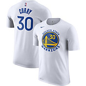 Nike Youth Golden State Warriors Steph Curry #30 Dri-FIT White T-Shirt