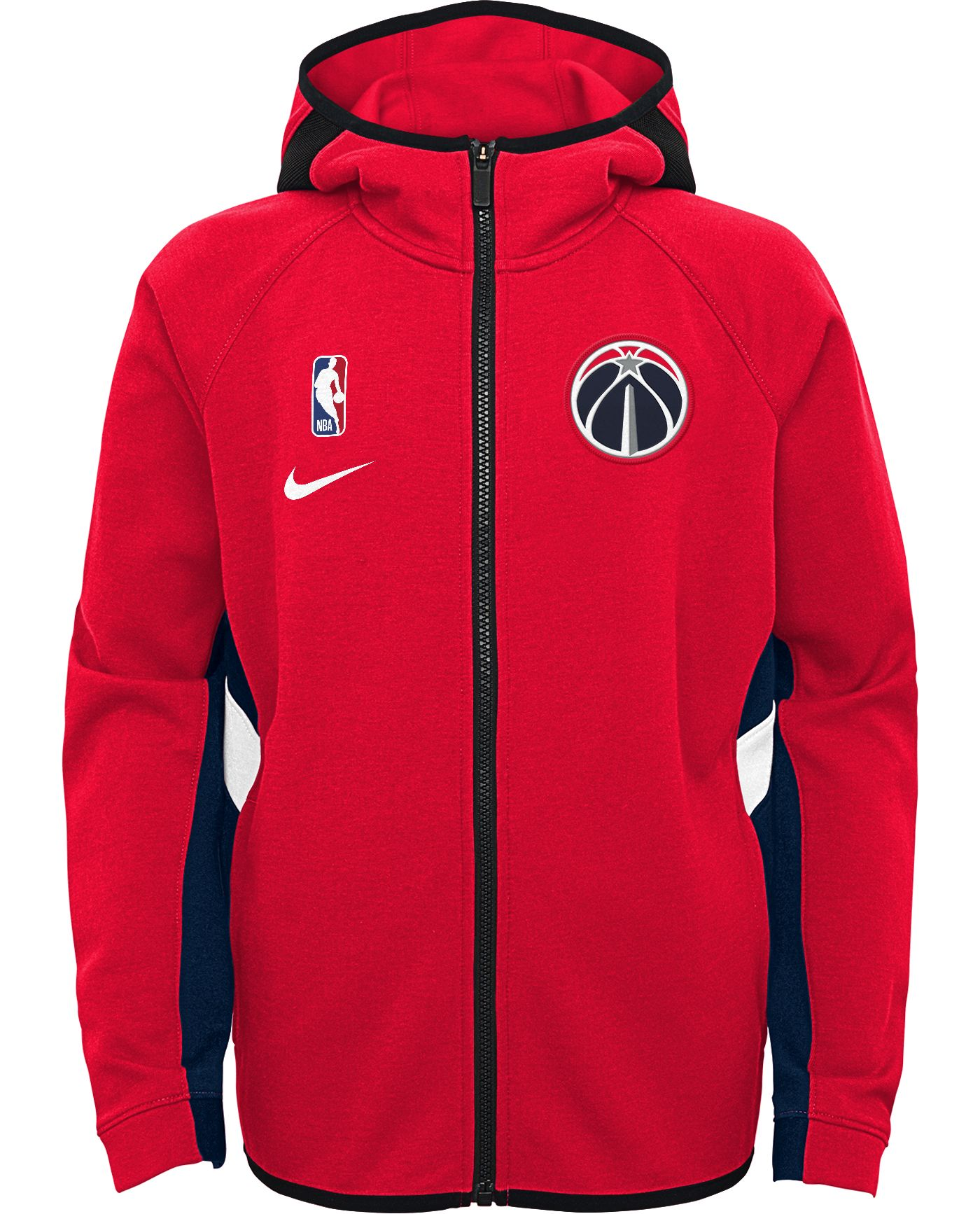 Nike Youth Washington Wizards On-Court Therma Flex Showtime Full-Zip Hoodie