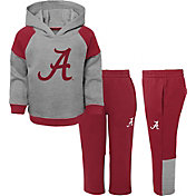 Gen2 Toddler Boys' Alabama Crimson Tide Grey/Crimson Sideline 2-Piece Fleece Set