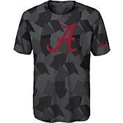 Gen2 Boys' Alabama Crimson Tide Grey Sublimated Print Stadium T-Shirt