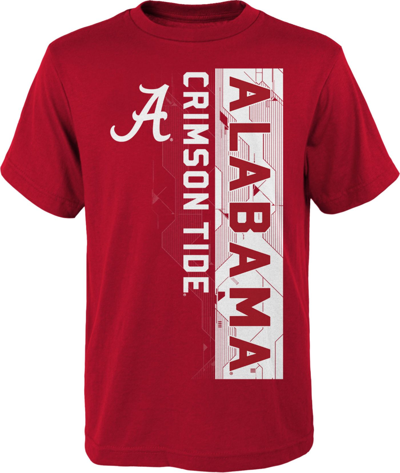 Gen2 Boys' Alabama Crimson Tide Crimson Challenger T-Shirt