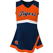 Gen2 Youth Girls' Auburn Tigers Blue Cheer Captain 2-Piece Jumper Dress