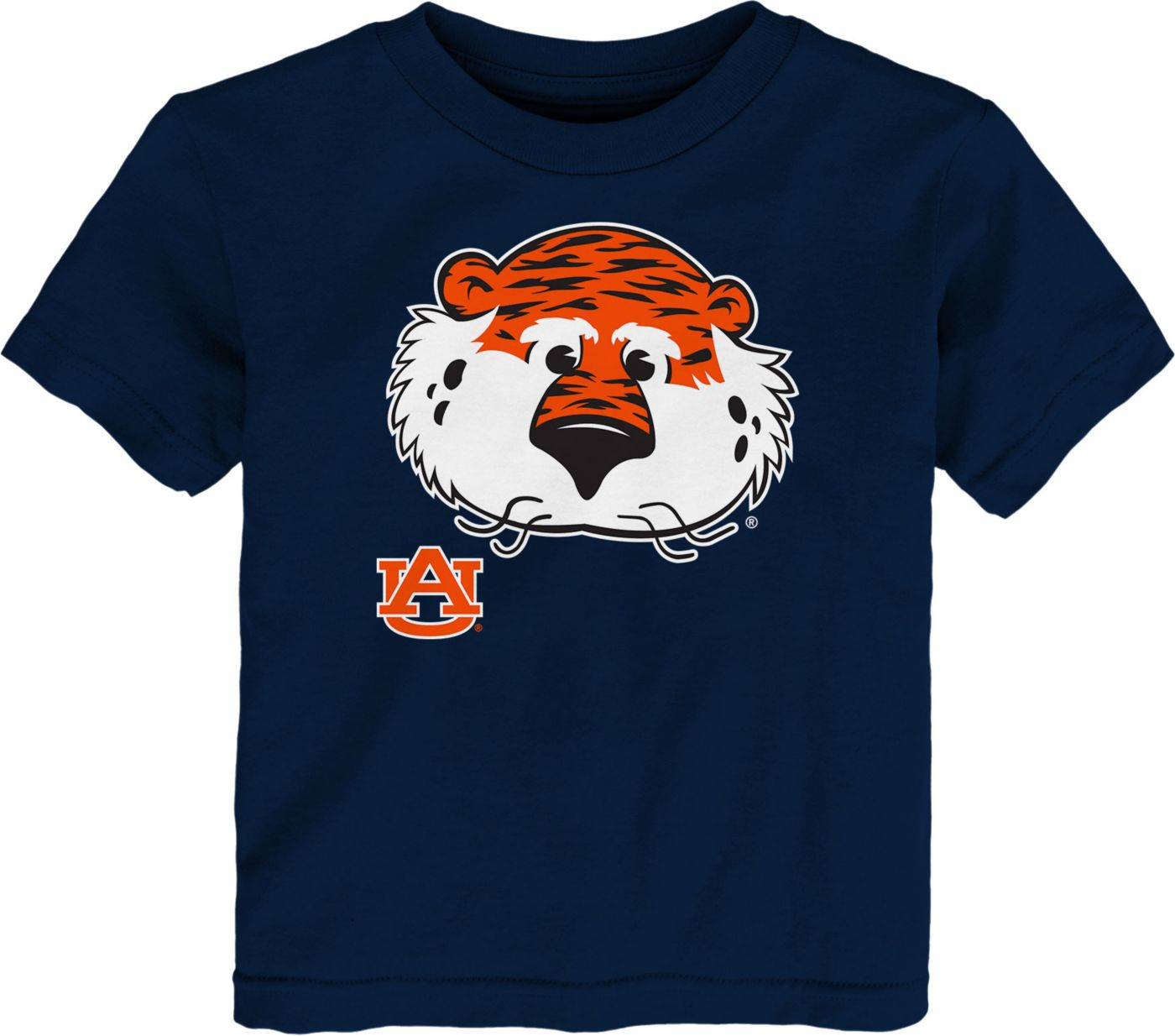 Gen2 Toddler Auburn Tigers Blue Headshot T-Shirt
