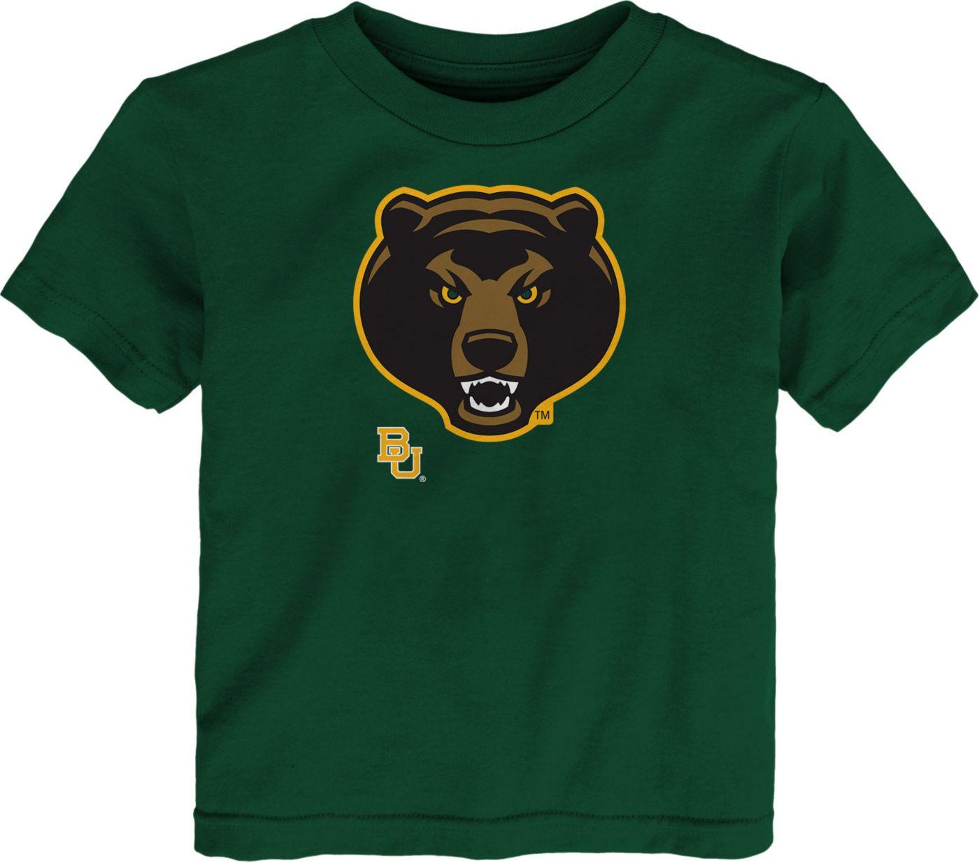 Gen2 Toddler Baylor Bears Green Headshot T-Shirt