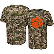 Gen2 Boys' Clemson Tigers Camo Alpha Performance T-Shirt