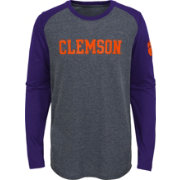 Gen2 Youth Clemson Tigers Grey First String Long Sleeve T-Shirt