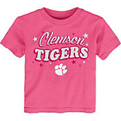 Gen2 Toddler Girls' Clemson Tigers Pink My Team T-Shirt
