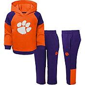 Gen2 Toddler Boys' Clemson Tigers Orange/Regalia Sideline 2-Piece Fleece Set