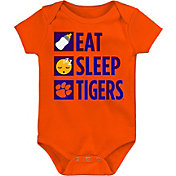 Gen2 Infant Clemson Tigers Orange Daily Agenda Creeper