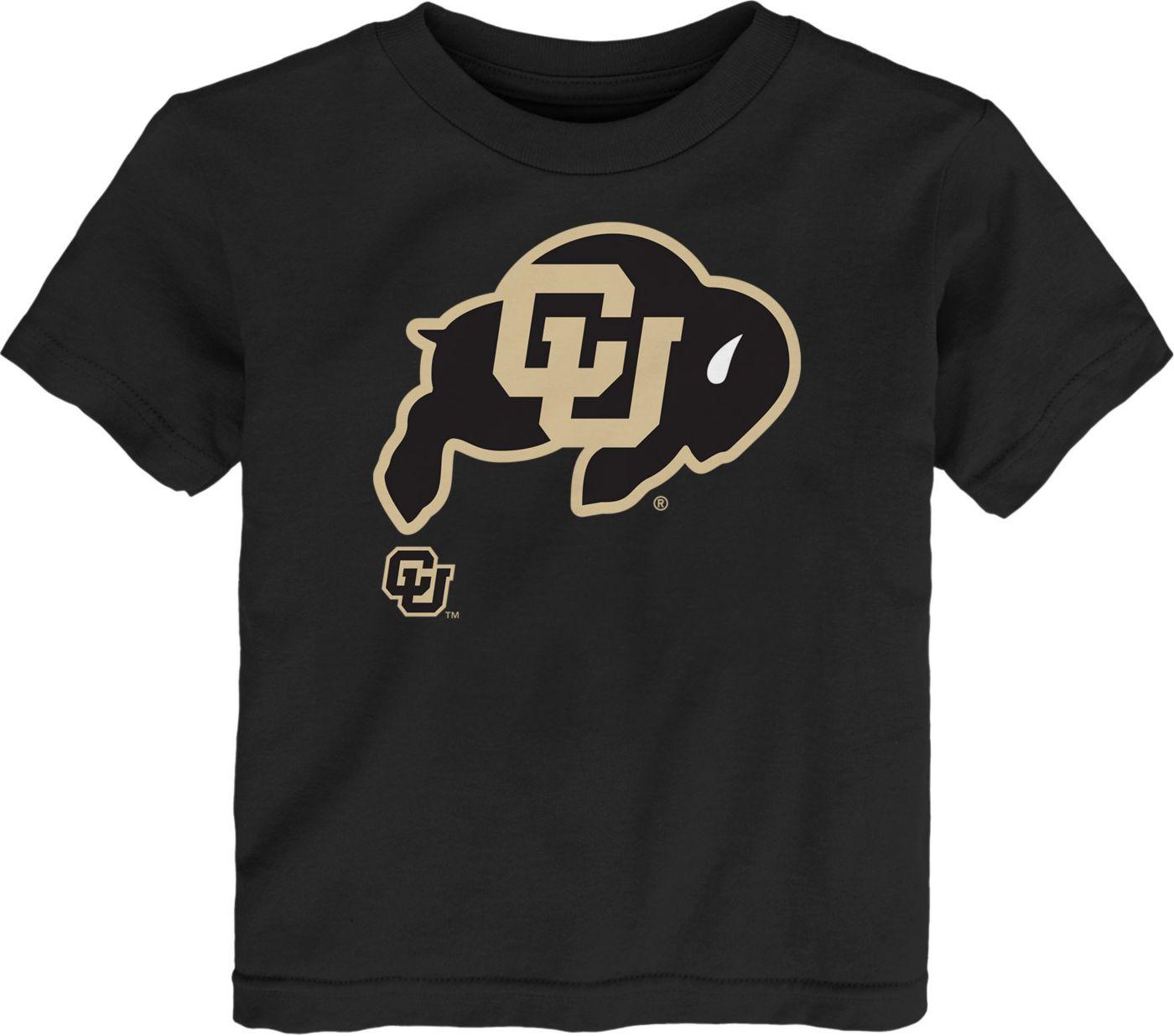 Gen2 Toddler Colorado Buffaloes Headshot Black T-Shirt