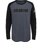 Gen2 Youth Colorado Buffaloes Grey First String Long Sleeve T-Shirt
