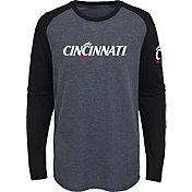 Gen2 Youth Cincinnati Bearcats Grey First String Long Sleeve T-Shirt