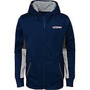 Gen2 Youth UConn Huskies Blue Full-Zip Performance Hoodie