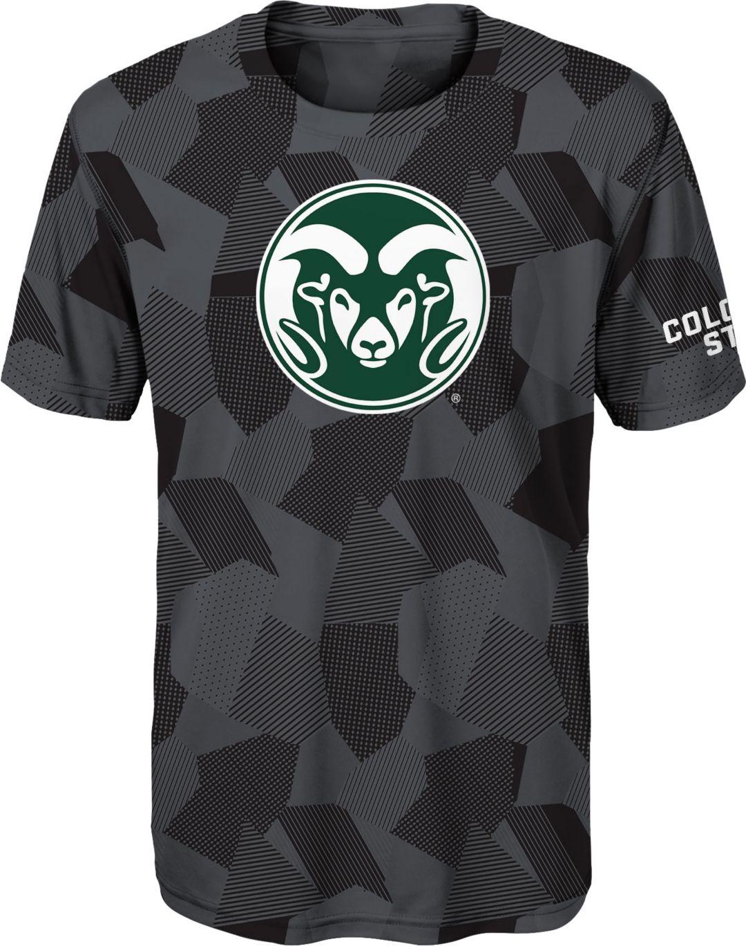 ca6374b4 Gen2 Boys' Colorado State Rams Grey Sublimated Print Stadium T-Shirt ...