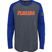 Gen2 Youth Florida Gators Grey First String Long Sleeve T-Shirt