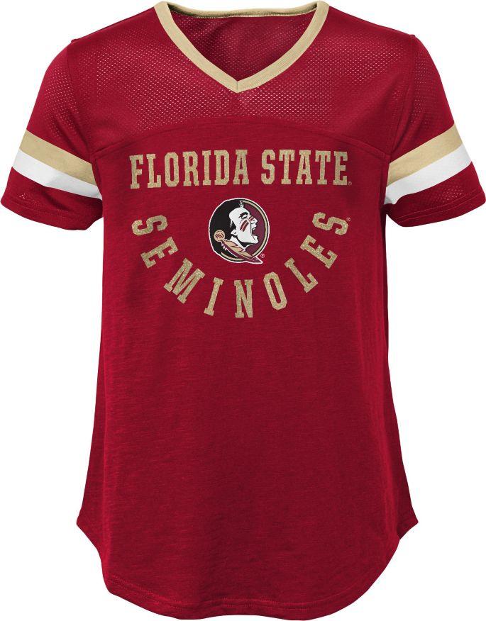 the latest 4596f a9e4a Gen2 Girls' Florida State Seminoles Garnet Game Plan T-Shirt