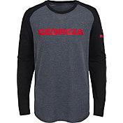 Gen2 Youth Georgia Bulldogs Grey First String Long Sleeve T-Shirt