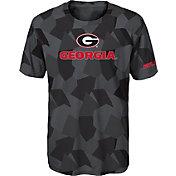 Gen2 Boys' Georgia Bulldogs Grey Sublimated Print Stadium T-Shirt