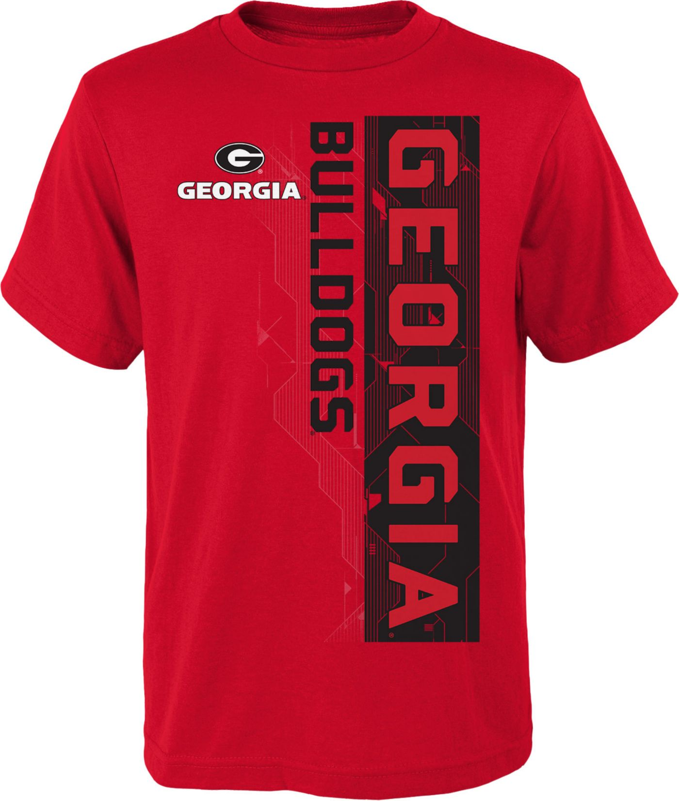 Gen2 Boys' Georgia Bulldogs Red Challenger T-Shirt