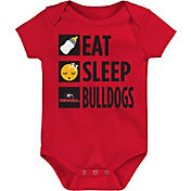 Gen2 Infant Georgia Bulldogs Red Daily Agenda Creeper