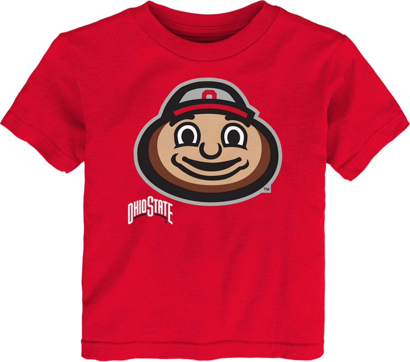 Gen2 Toddler Ohio State Buckeyes Scarlet Headshot T-Shirt
