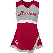 Gen2 Youth Girls' Oklahoma Sooners Crimson Cheer Captain 2-Piece Jumper Dress