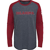 Gen2 Youth Oklahoma Sooners Grey First String Long Sleeve T-Shirt