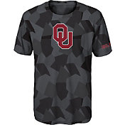 Gen2 Boys' Oklahoma Sooners Grey Sublimated Print Stadium T-Shirt