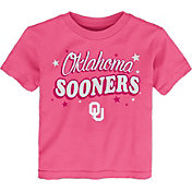 Gen2 Toddler Girls' Oklahoma Sooners Pink My Team T-Shirt