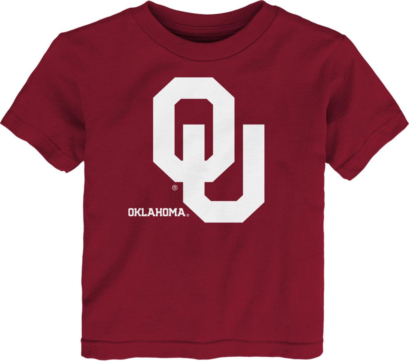 Gen2 Toddler Oklahoma Sooners Crimson Headshot T-Shirt