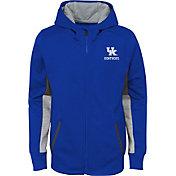 Gen2 Youth Kentucky Wildcats Blue Full-Zip Performance Hoodie