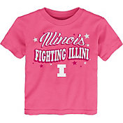 Gen2 Toddler Girls' Illinois Fighting Illini Pink My Team T-Shirt