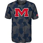 Gen2 Boys' Ole Miss Rebels Grey Sublimated Print Stadium T-Shirt