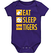 Gen2 Infant LSU Tigers Purple Daily Agenda Creeper
