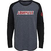 Gen2 Youth Louisville Cardinals Grey First String Long Sleeve T-Shirt