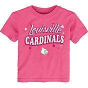 Gen2 Toddler Girls' Louisville Cardinals Pink My Team T-Shirt