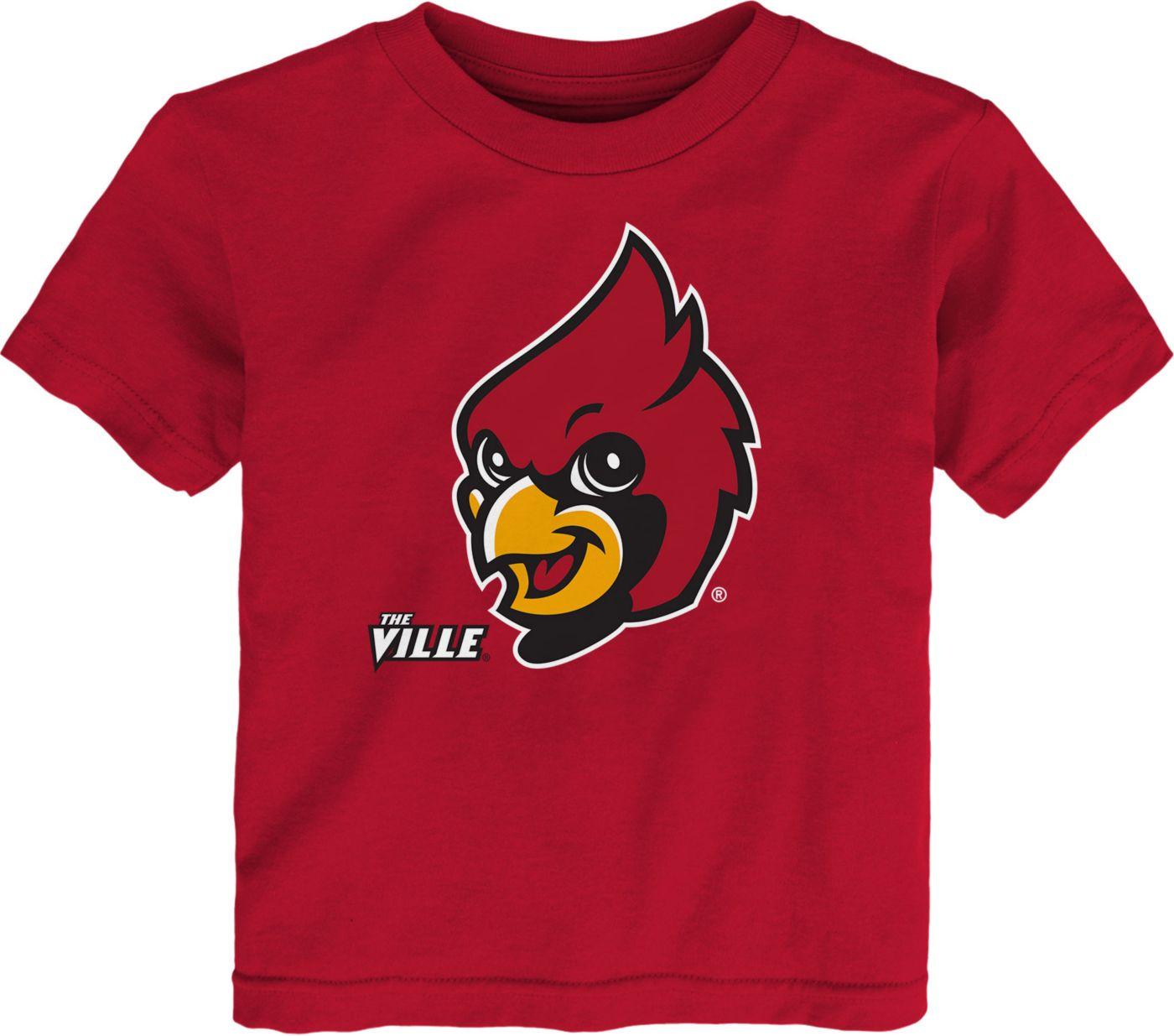 Gen2 Toddler Louisville Cardinals Cardinal Red Headshot T-Shirt