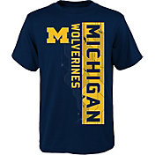 Gen2 Boys' Michigan Wolverines Blue Challenger T-Shirt