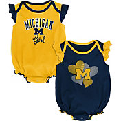 Gen2 Infant Michigan Wolverines Blue Celebration 2-Piece Onesie Set