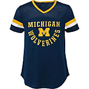 Gen2 Girls' Michigan Wolverines Blue Game Plan T-Shirt