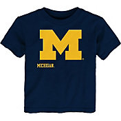 Gen2 Toddler Michigan Wolverines Blue Headshot T-Shirt